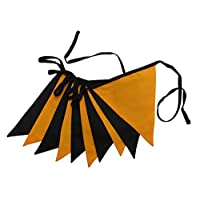 3m Halloween Bunting - Double Sided Fabric Bunting