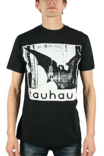 Bauhaus - Undead Discharge Uomo T-Shirt In Nero, Size: Large, Color: Nero