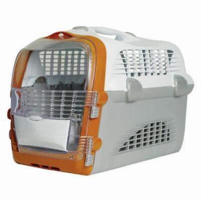 Generic, trasportino P in plastica per animali domestici, cani, trasporti, sport, gatto, gatto, gatto, gatto, trasportino, grande