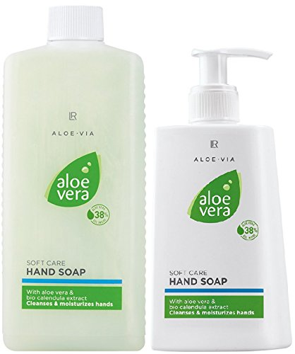LR ALOE VIA Aloe Vera Set (250 ml Handseife & 500 ml Handseife Nachfüllpack)