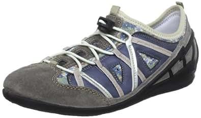 Rieker 59587 Women Low-Top, Damen Sneakers, Grau (dust/denim/kornblume/muschel/silver/43), 36 EU