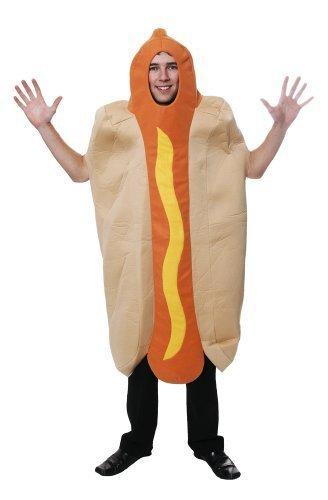 nen Kostüm Hotdog Chilli Sausage Sandwich Kostüm (Sandwich Kostüme Erwachsene)