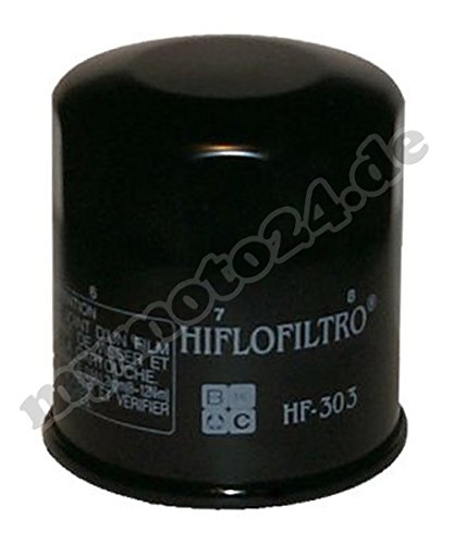 HIFLO Ölfilter HF303, Honda/Kawasaki/Yamaha für Kawasaki Z1000 /ABS Baujahr 2008 - Abs Filter