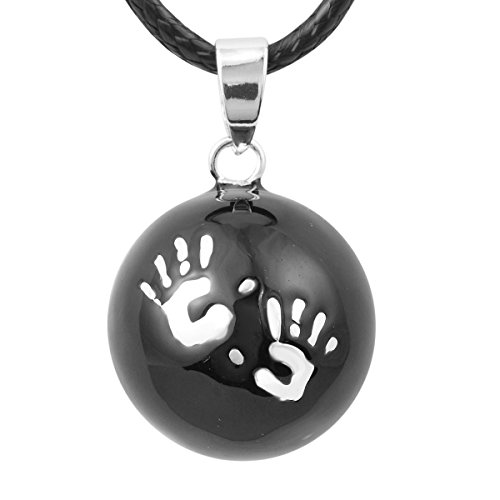 baby-hands-pendentif-avec-114-cm-long-collier-femme-enceinte-cadeau