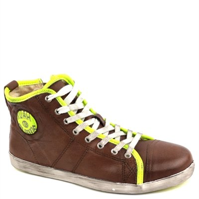 Koah Penny Leather Brown/L. Yellow 39