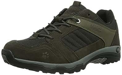 Jack Wolfskin  SKYWALKER MEN, Chaussures de randonnée homme - Gris - Grau (shadow black 6101), 40.5 EU