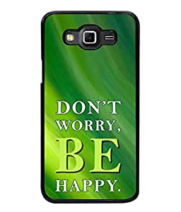 Fabcase greeney life lessons don't worry be happy Designer Back Case Cover for Samsung Galaxy Grand 2 :: Samsung Galaxy Grand 2 G7105 :: Samsung Galaxy Grand 2 G7102 :: Samsung Galaxy Grand Ii