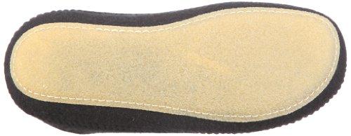 Haflinger 411006, Pantofole Unisex adulti Black - Schwarz/schwarz