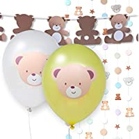 Hatton Gate Teddy Bear Party Decoration Pack