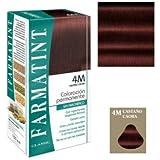 Farmatint Tinte para Cabello 4M Castaño Caoba - 234 gr