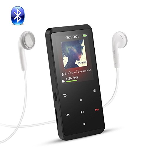 Reproductor MP3 Bluetooth 8GB, AGPTEK A07T MP3