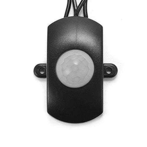 XCSOURCE® DC 5V bis 24V Mini PIR Sensor Schalter Belegung Vacancy Bewegungsmelder Schalter für Korridor Treppen Eingangsleuchten TE663 (Led-belegungs-sensor-licht)