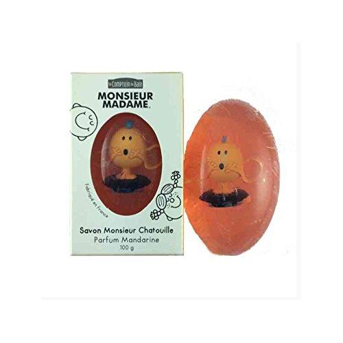 Le Comptoir du Bain Savon Monsieur et Madame 100 g - Parfum : Mandarine