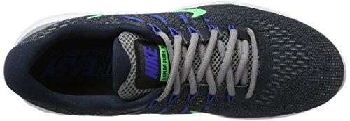 Nike - Lunarglide 8, Scarpe da corsa Uomo Blu (Armory Navy/electro Green-stealth)