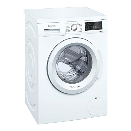 Siemens IQ500�wu12q468es Independent Front Loading 8�kg 1200rpm A + + + White�-�Washing Machine (Freestanding, Front Loading, White, Rotary, Touch, Left, LED)