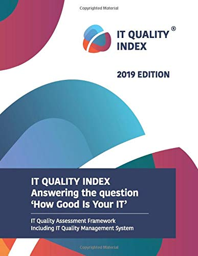 IT Quality Index 2019 edition: IT quality assessment method and IT QMS