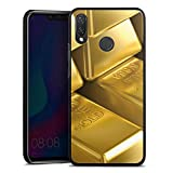 DeinDesign Huawei P Smart Plus Hülle Case Handyhülle Goldbarren Gold Barren