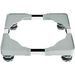 Base de Machine à Laver Réfrigérateur - Beatie Support en Acier Inoxydable Rotatif pour Lave-Linge Sèche-Linge Congélateur - Longueur 50-60cm | Largeur 45-58cm | Hauteur 10cm