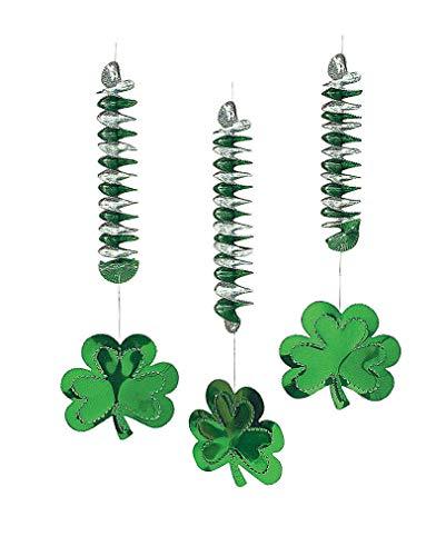 St. Patrick's Day Kleeblatt mit Spirale