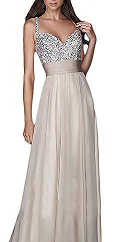 Tunique Country - Femme Robes Longues Elégant Paillettes Mousseline Col