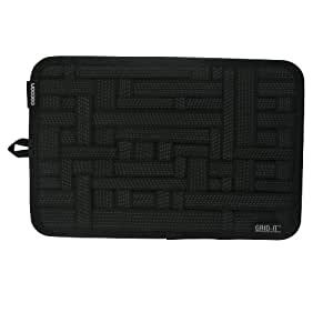 Cocoon GRID-IT - Organizer Case/Elastic Strings/Electronics Accessories | Organizer with Ziper and Passant - Black - 30,5 x 1 x 20,3cm