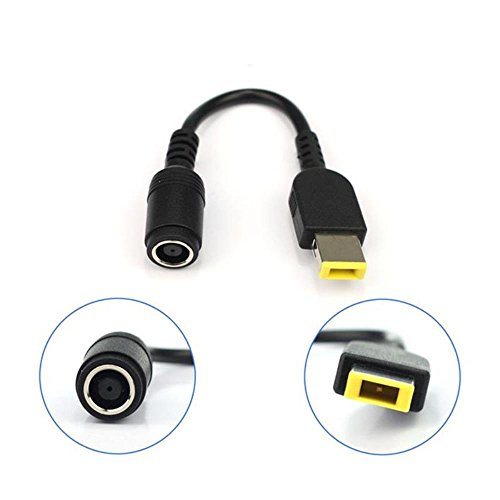 Notebook/Laptop Netzteil/AC Adapter für LENOVO (IBM) Netzteil 20V rund auf eckig (neu) mit Pin, schwarz - Notebook Netzteil Adapter