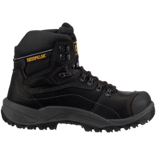 Cat Footwear Diagnostic Hi S3 P711912, Scarpe Eleganti uomo Nero