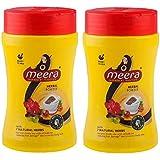 Meera Hair Wash Powder, 120g (Pack of 2)