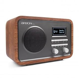 Argon Internet+DAB+UKW Radio iNET2+ walnuss