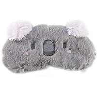 ECYC Cute Christmas Deer Animal Augenschutz Schlafmaske Augenklappe, grau preisvergleich bei billige-tabletten.eu