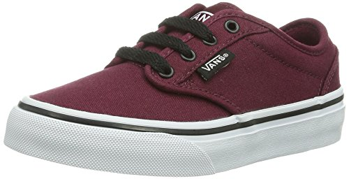 Vans Y Atwood Palms c, Zapatillas Unisex Niños, Rojo Canvas Oxblood/Black, 37 EU