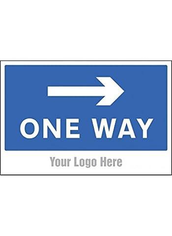 Nouvelle-Calédonie Signes 55769One Way Flèche droite site de panneau
