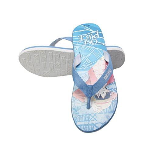 Bromeo One Piece Anime Unisex Flip Flops Zehentrenner Flip Pantoffeln 15