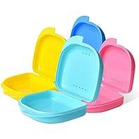 Preisvergleich für WAOBE Zahnersatz Dental Container - 2 Boxen Kieferorthopädische Koffer Zahnprothese Bad Box Zahnschutz Aufbewahrungsbehälter...
