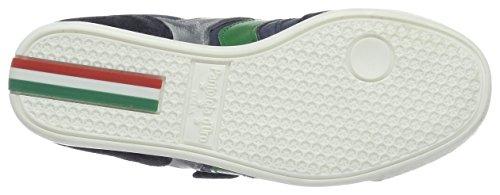 Pantofola d'Oro Vasto Ragazzi Velcro Low, chaussons d'intérieur garçon Bleu (Dress Blues)