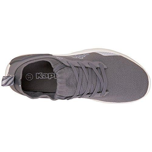 Kappa Flair, Sneaker Unisexe - Adulteo Grau (1614 Gris / Gris)