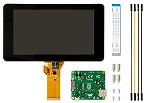 Raspberry Pi 2473872 - Display a Schermo Tattile V2, 8MP, 7 Pollici