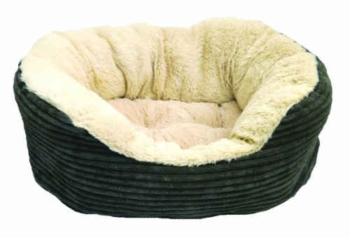 Rosewood Jumbo Cord/ Plush Dog Bed Best Price and Cheapest