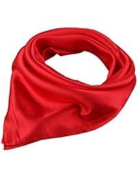Foulard carré couleur unie 57 * 57cm