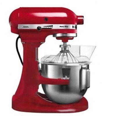 Kitchen Aid 5KPM5BER K5 Heavy Duty Mixer Empire Red 4.83L