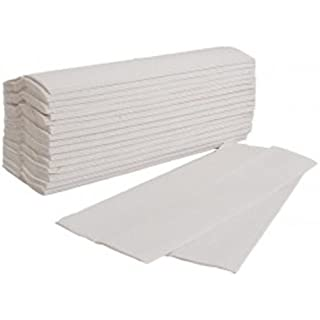 2400 Soft White C-Fold Paper Hand Towels 2 Ply Multi-Fold - Bathroom Toilet Towel Tissue Dispenser Janitorial Supplies