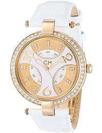 Carlo Monti Armbanduhr für Damen mit Analog Anzeige, Quarz-Uhr und Lederarmband - Wasserdichte Damenuhr mit zeitlosem, schickem Design - klassische, elegante Uhr für Frauen - CM501-286 Vittoria