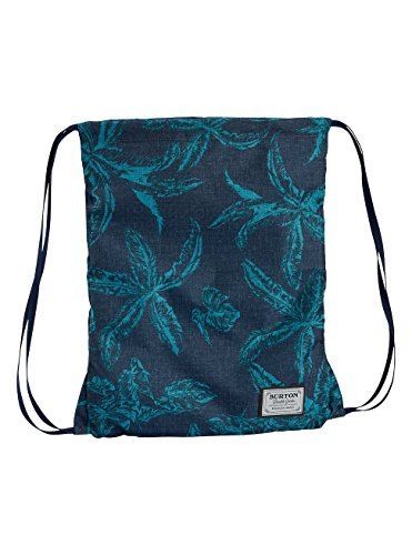 Burton Erwachsene Cinch Bag Gymbag, Tropical Print, 45 x 40 x 0.5 cm