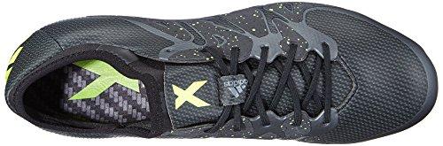 adidas X15.1 Sg, Chaussures de football homme Noir (core Black/solar Yellow/night Met. F13)