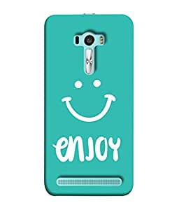 PrintVisa Designer Back Case Cover for Asus Zenfone Selfie ZD551KL (Love Lovely Attitude Men Man Manly)