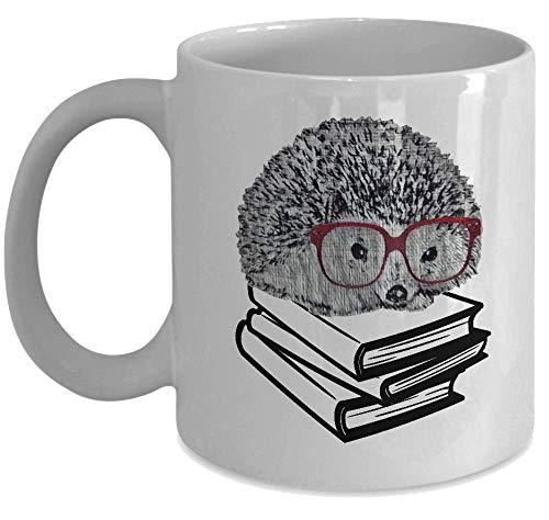 Igel Tasse Buch Nerd mit Brille Cute As Seen On shirt-funny Geschenk für nerdigen Geek liebt Lesen