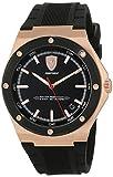 Scuderia Ferrari Reloj Analógico para Hombre de Cuarzo con Correa en Silicona 830553