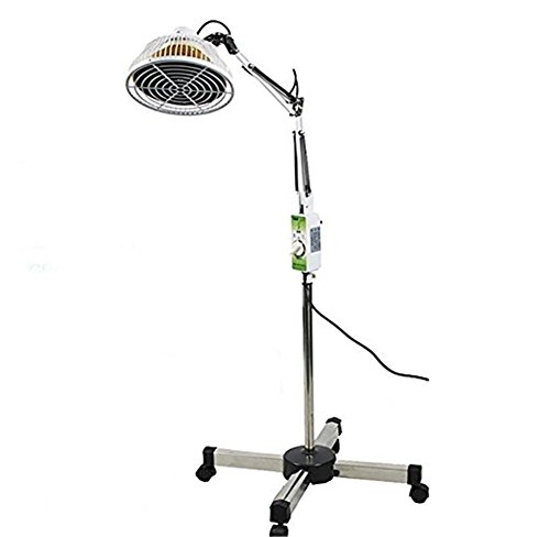 Wärmelampe TDP Far Infrarot Mineral Therapie Akupunktur Licht abnehmbaren Kopf 300W (Tdp-mineral-lampe)