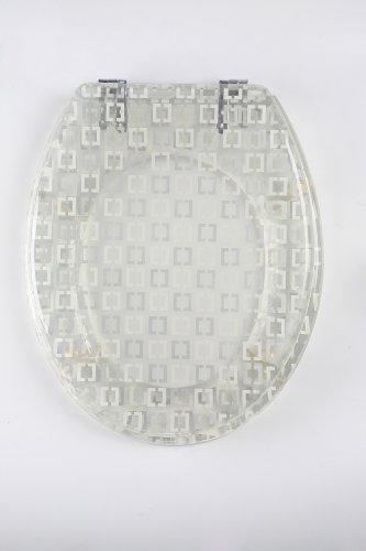 ADOB Transparenter Design WC Sitz Chicago, 41334 - Chicago Design