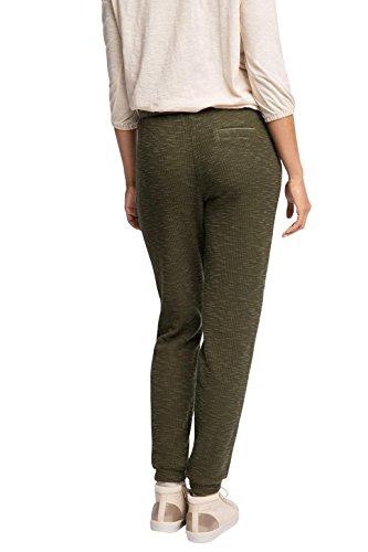 ESPRIT Damen Hose mit Gummizugbund Grün (KHAKI GREEN 350)